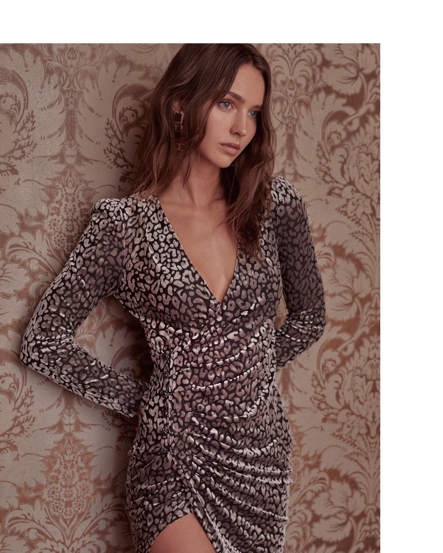 Yasmin Leopard Dress