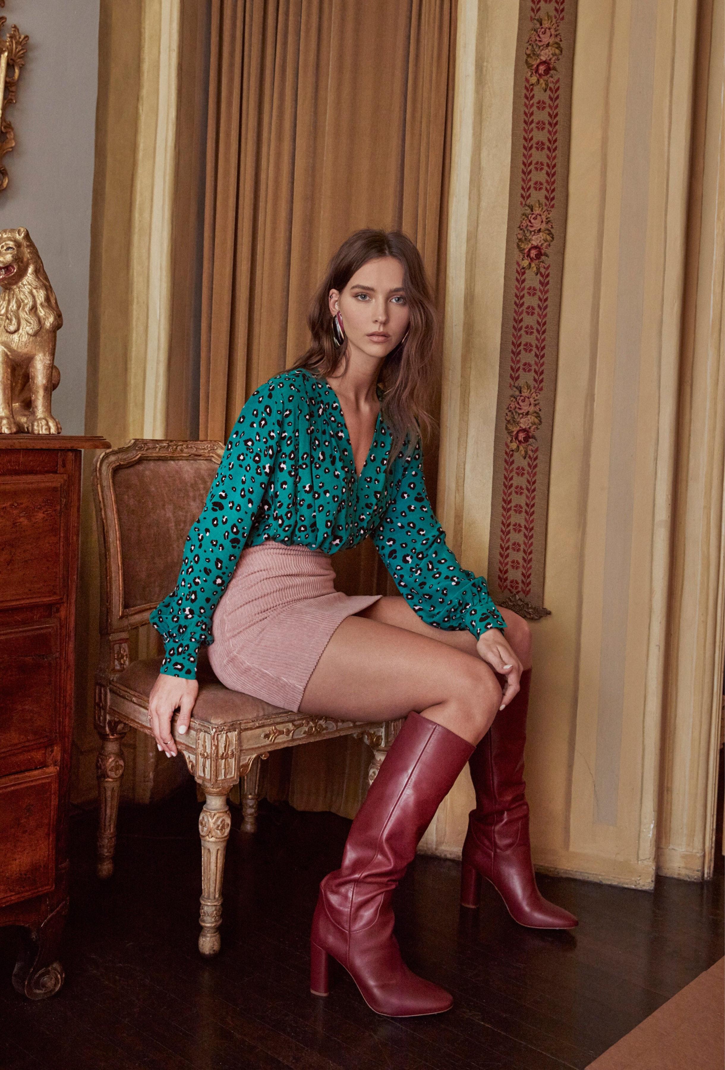 Trixie Leopard Print Bodysuit