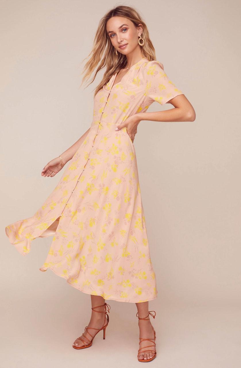 Harmony Floral Midi Dress