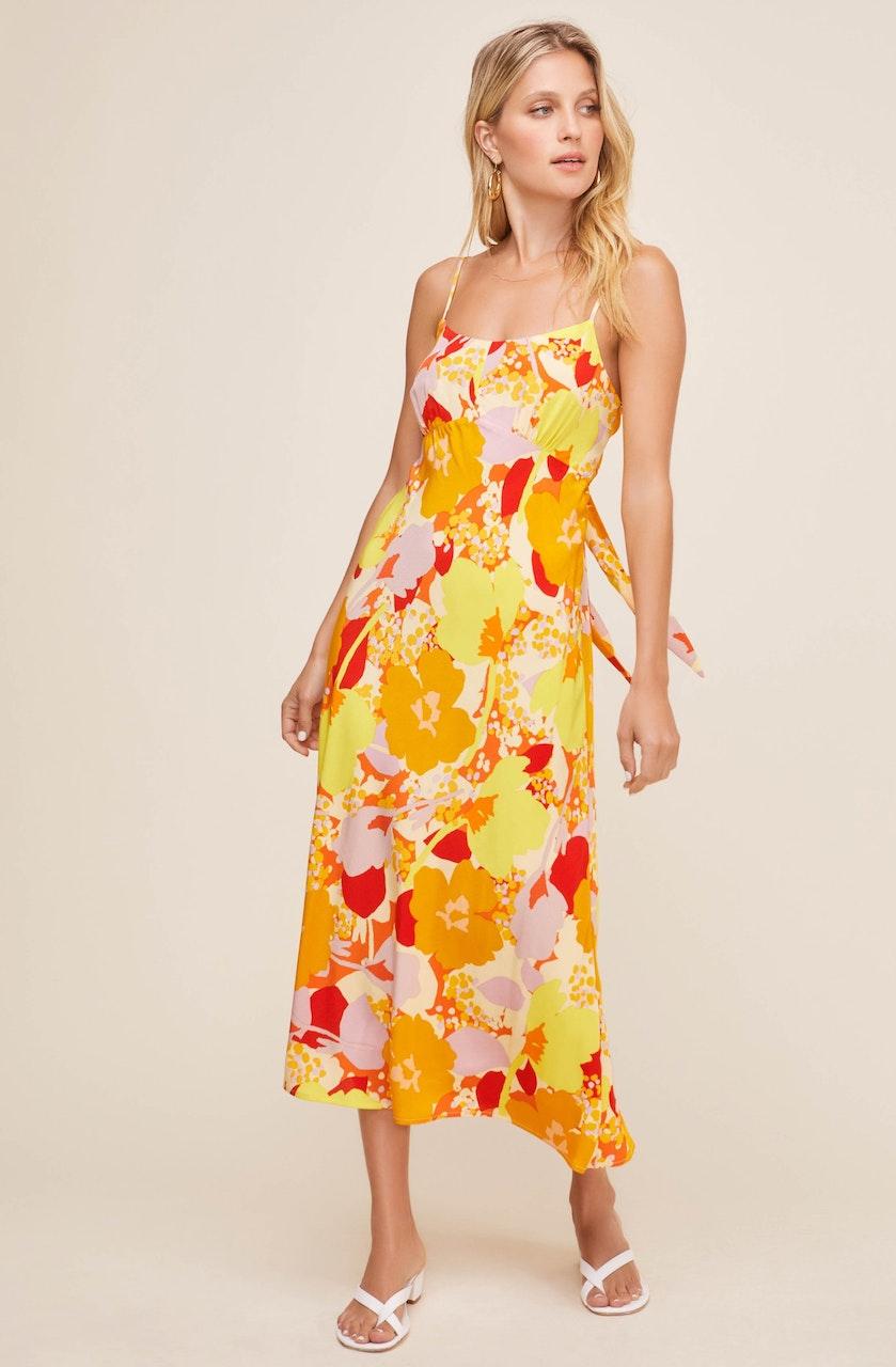 Charisma Floral Midi Dress