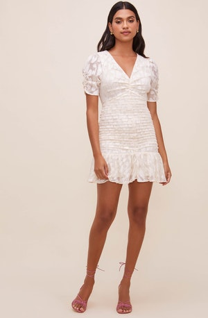 Erina Ruched Mini Dress