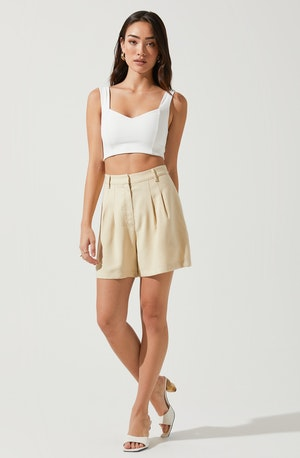Melrose Pleated Shorts