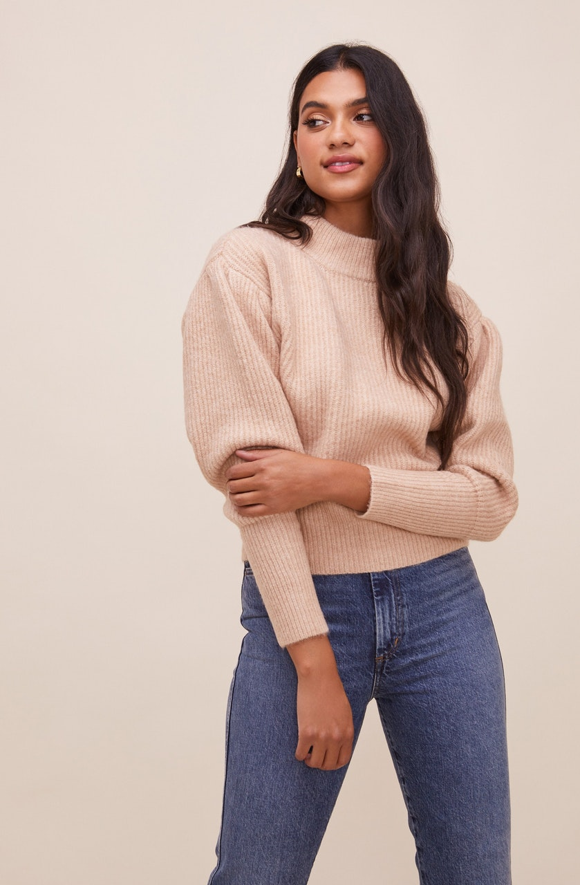Regis Mock Neck Sweater